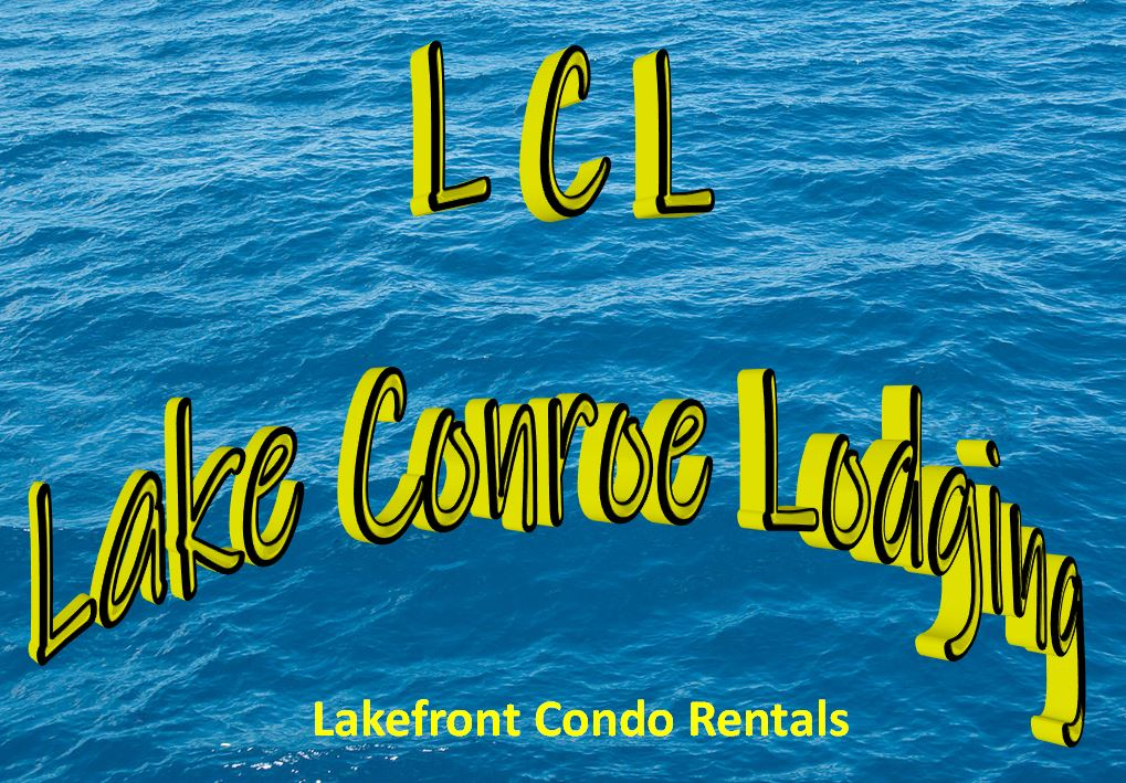 Lake Conroe Lodging official logo